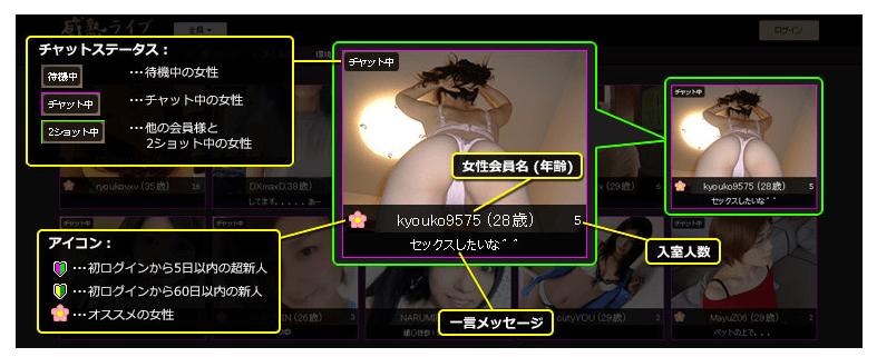 感熟ライブ サムネイル説明2