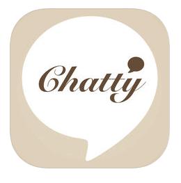 chatty アプリ アイコン
