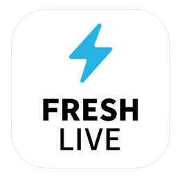 FRESH LIVE アプリ アイコン